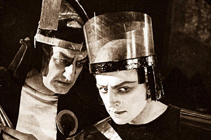 Кадр из фильма Аэлита