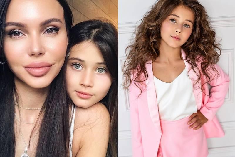 Дочка Оксаны Самойловой и Джигана