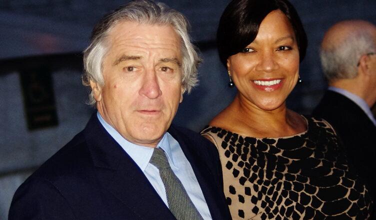 Де Ниро с женой Грейс Хайтауэр