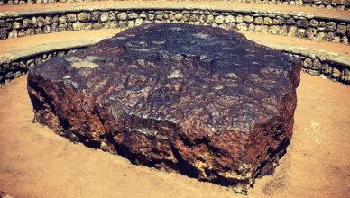 Гоба — самый большой метеорит, прилетевший на Землю