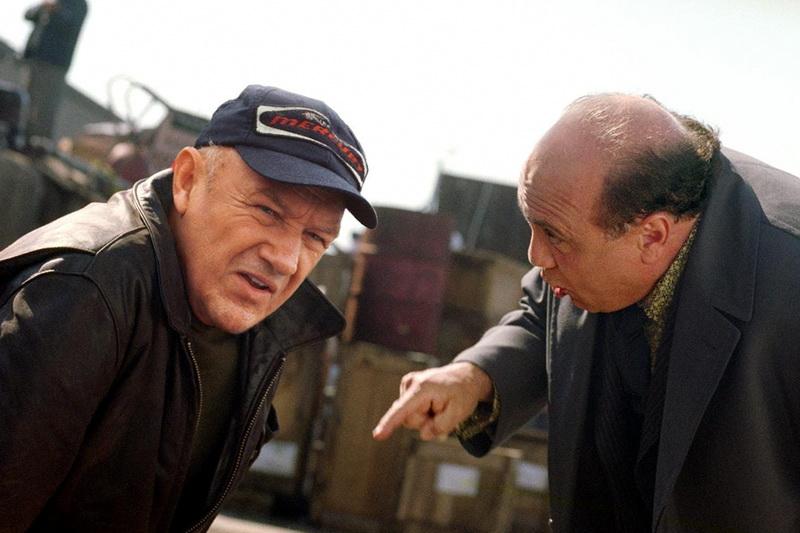 Джин Хэкмен и Дэнни Де Вито