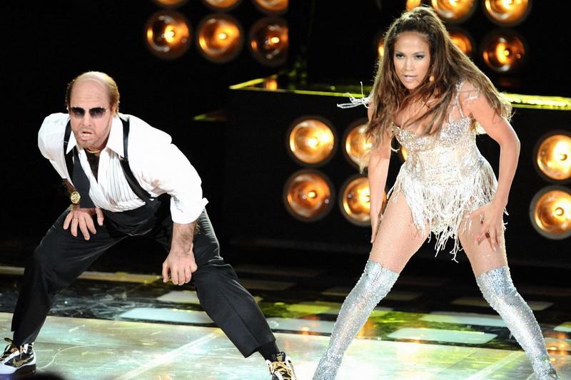 Танец Дженнифер Лопес и Тома Круза