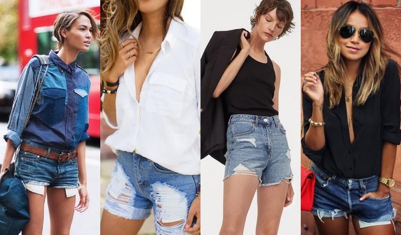 Джинсовые шорты лето 2020