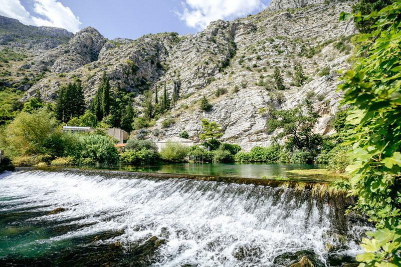 Река Омбла в Хорватии