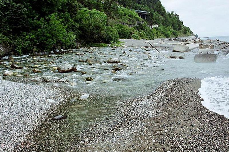 Река Репруа в Абхазии