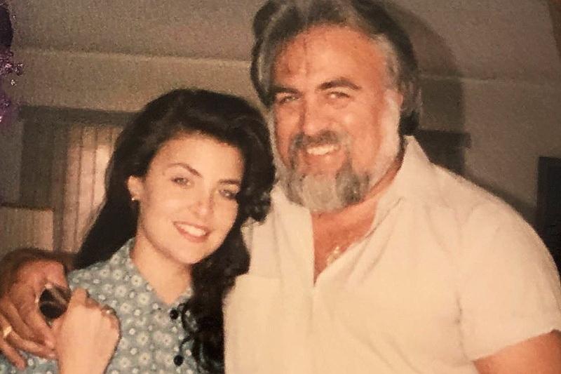Шерилин Фенн с папой