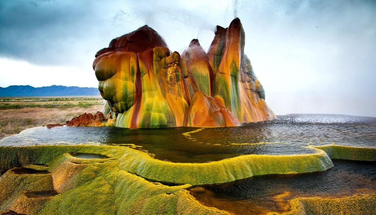 Гейзер Флай — случайное чудо природы