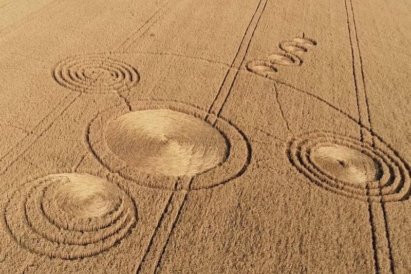 Круги на полях Кубани