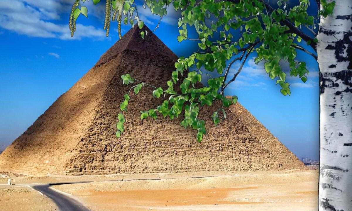 Семейная пара из России построила в деревне копию пирамиды Хеопса