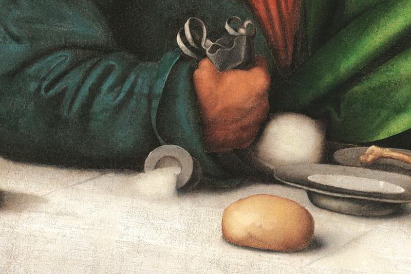 Фрагмент картины Тайная Вечеря