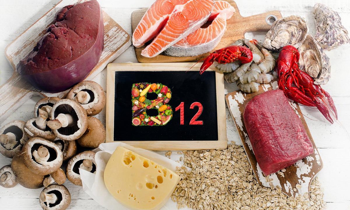Польза и симптомы нехватки витамина В12