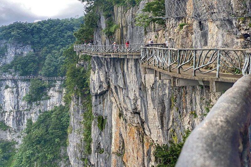 Деревянная дорожка Тяньмэнь