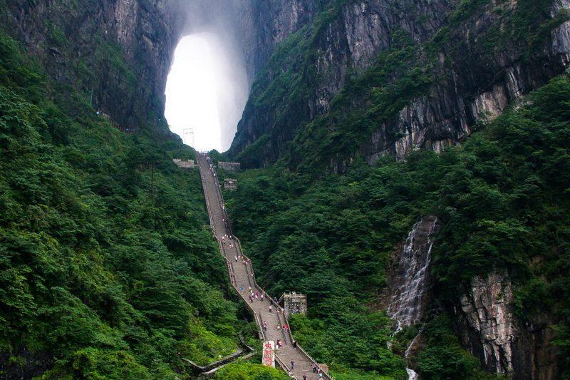 Лестница к небесным вратам
