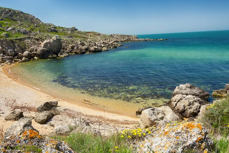 Пляж Казантипа Крым