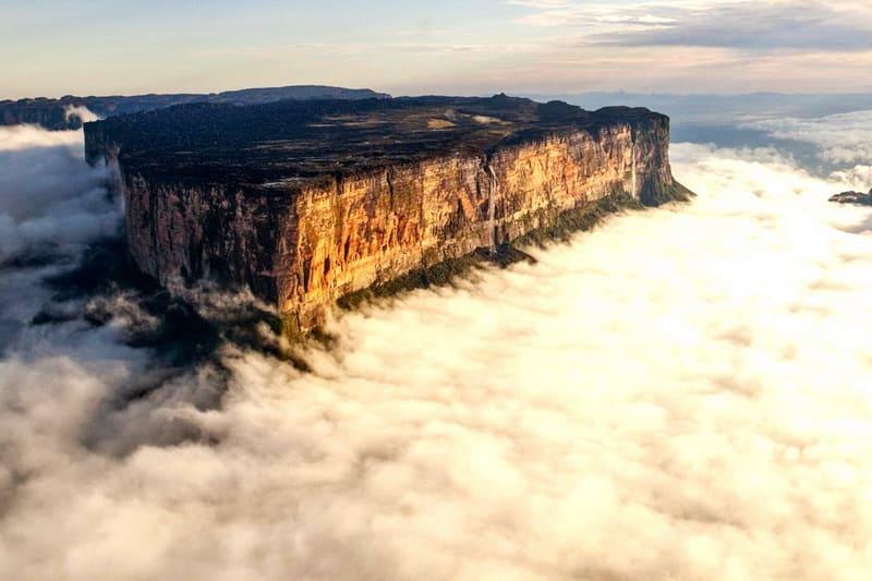 Гора Рорайма плато