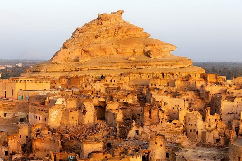 Руины Шали Египет