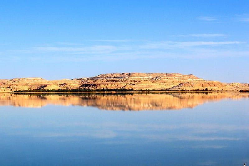 Соленое озеро Сива Египет