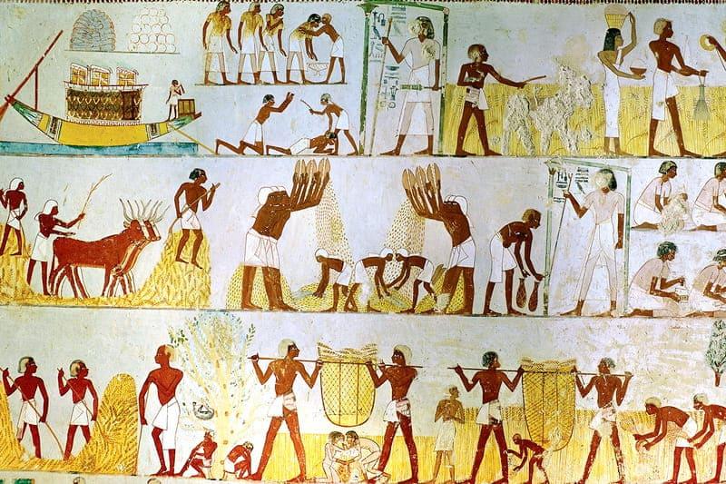 Рабочие в Древнем Египте