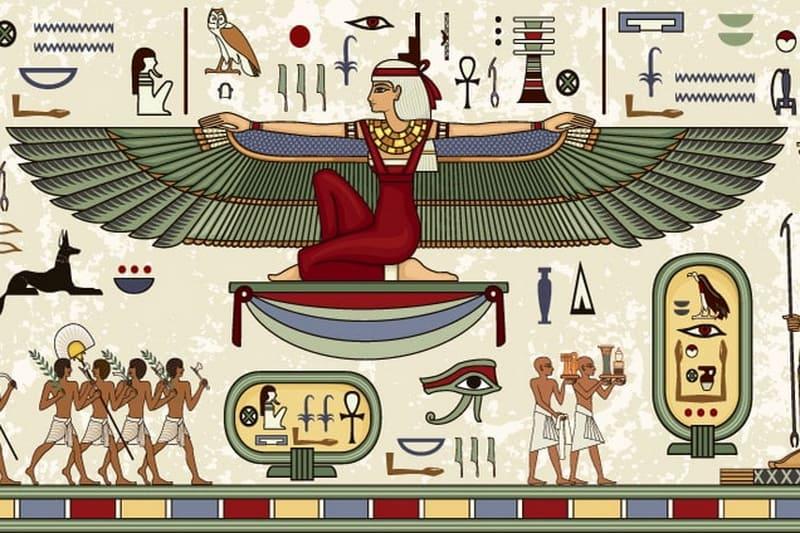 Богиня Египта Исида