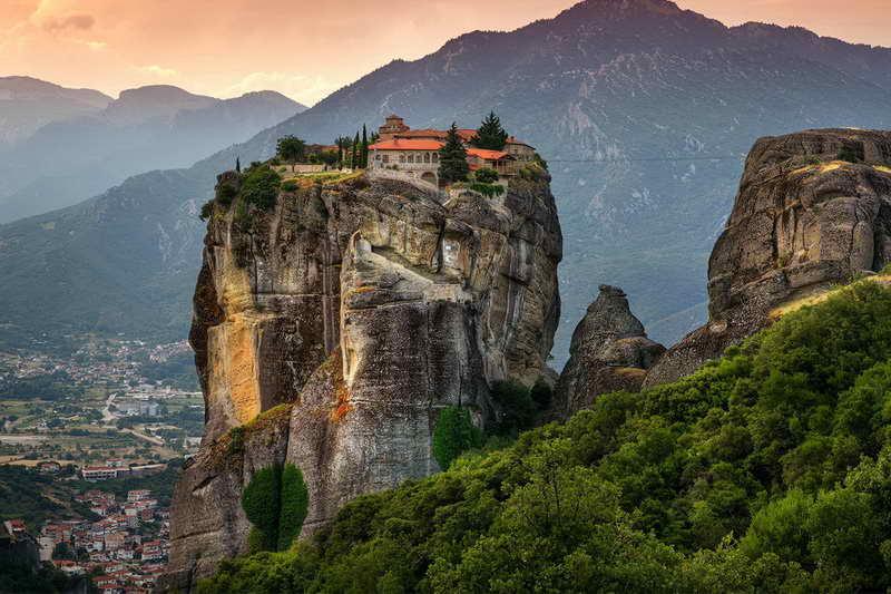 Монастырь Русану Греция