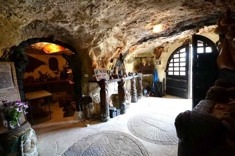 Пещерный дом Менорка Испания