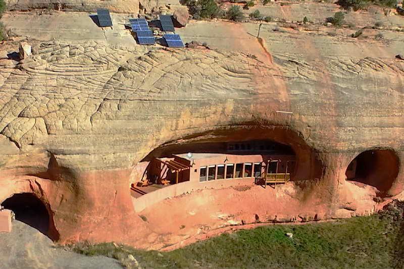 Пещерный дом Клифф-Хейвен