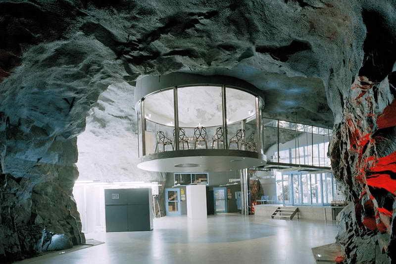 Пещерный офис в Швеции