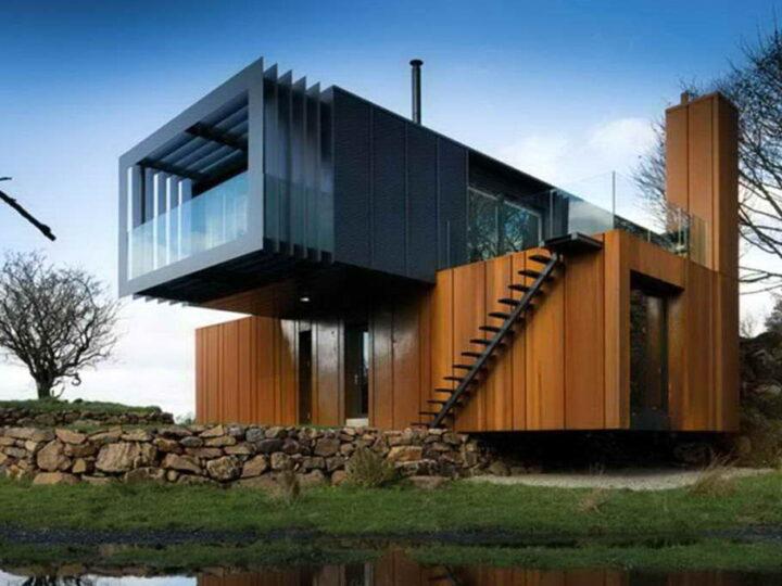 10 потрясающих домов из грузовых контейнеров