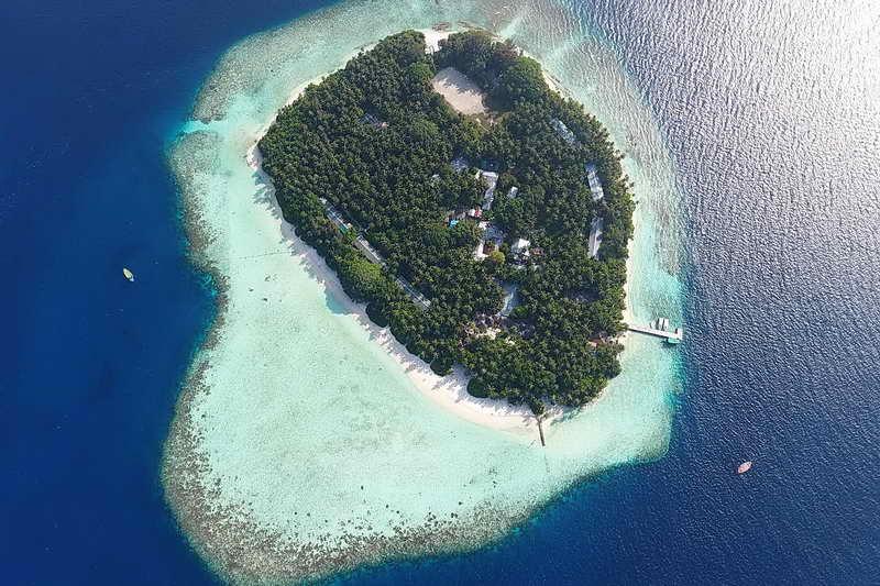Остров Ваадху Мальдивы