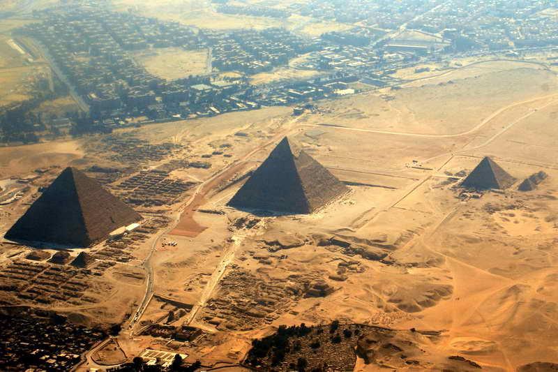 Три пирамиды в Гизе