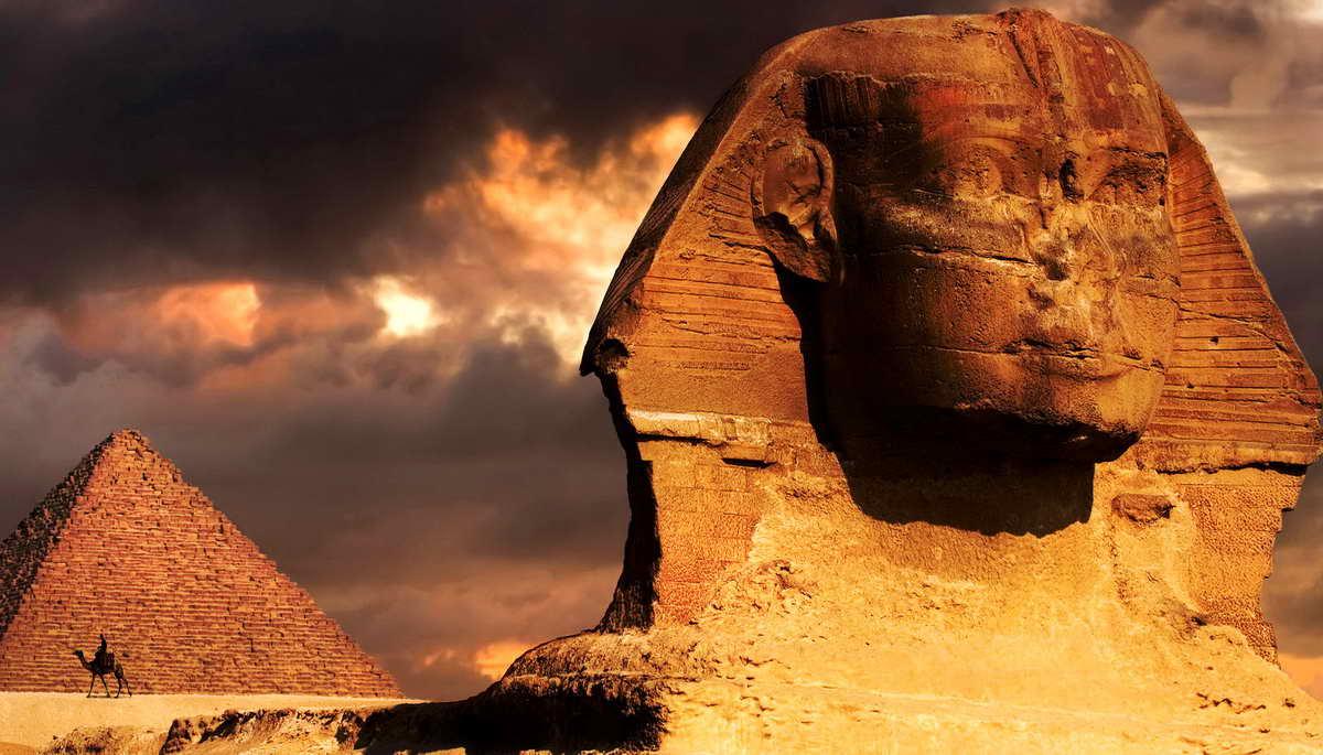 Археологические работы в пирамиде Хеопса