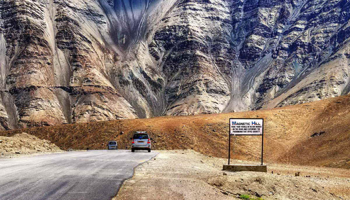 Магнитный холм в Индии — вызов гравитации или иллюзия