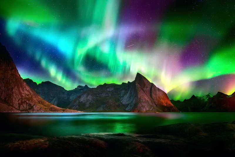 Северное сияние Норвегия