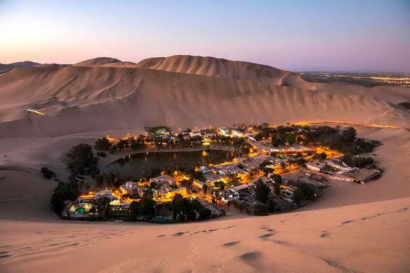 Оазис Уакачина Перу