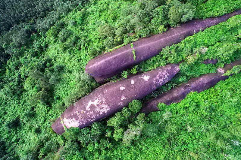Скала трех китов Таиланд