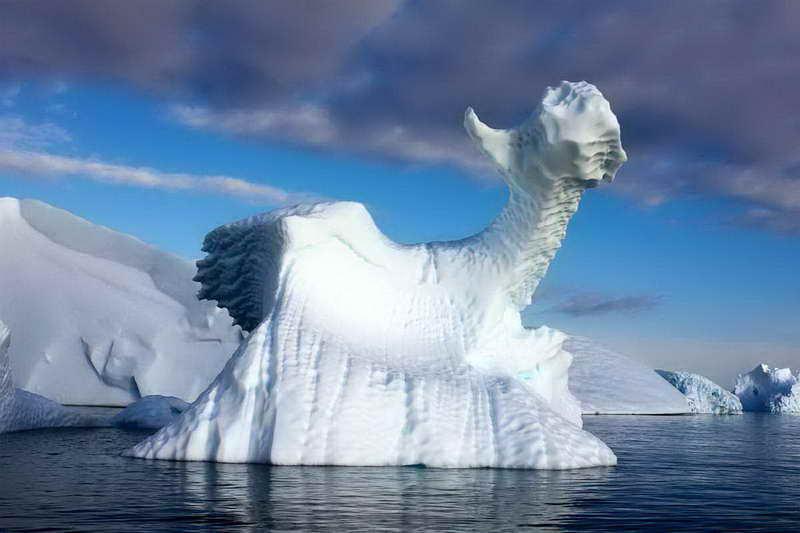 Айсберги Арктики