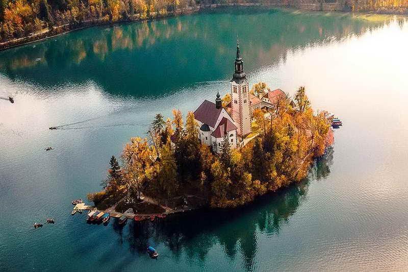 Остров Блед Словения
