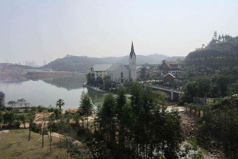 Гальштат в китайской провинции