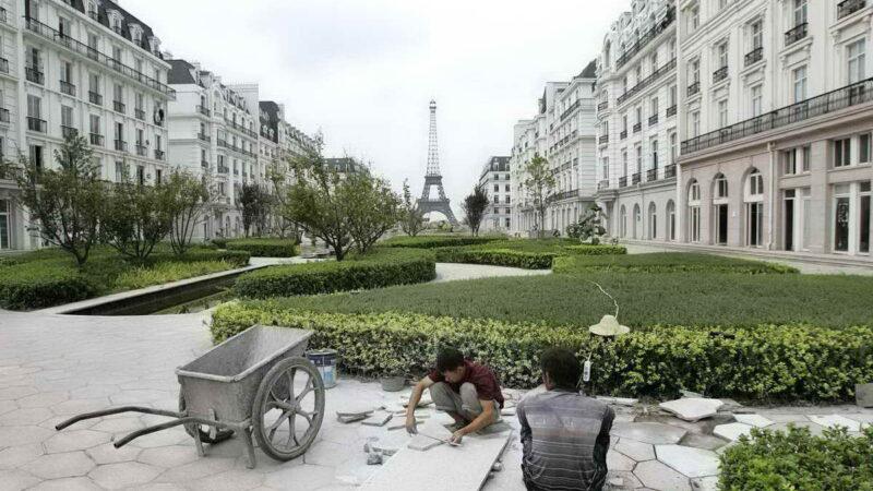 Европейские города-клоны в Китае