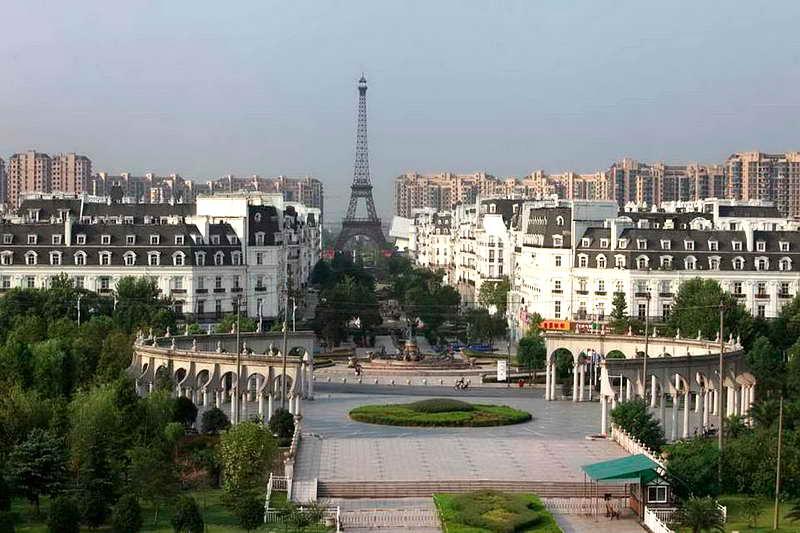 Тиандученг клон Парижа в Китае