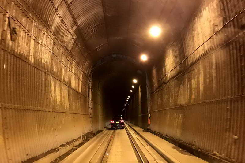 Тоннель памяти Антона Андерсона