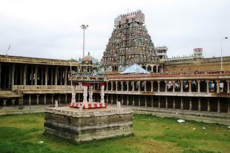 Храм Джамбукешвара