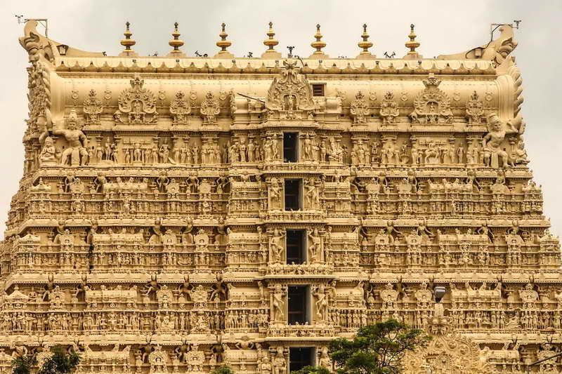 Храм Падманабхасвами в Индии