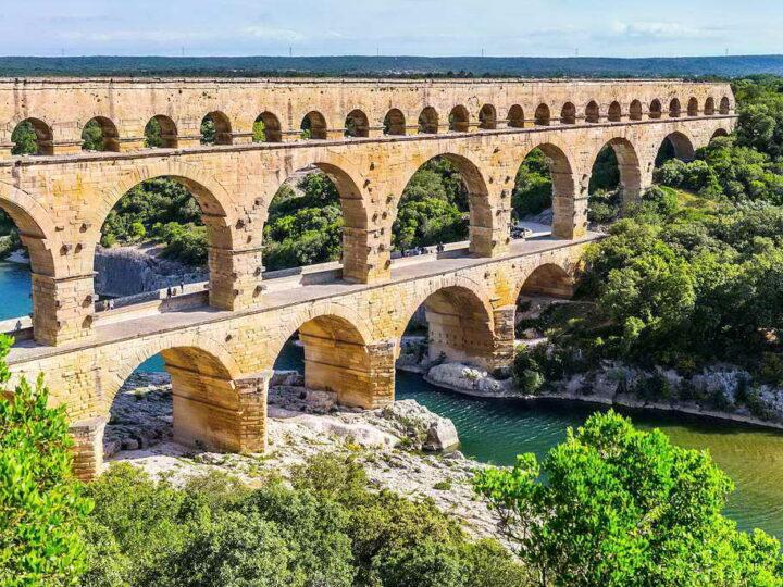 Мост Пон-дю-Гар — шедевр древнеримского строительства